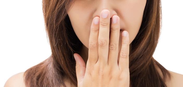 Mundtørhed kan være skyld i dårlig ånde